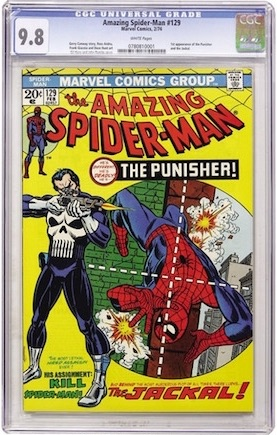 A superb book, and vitally important as the first Punisher appearance, but why spend all that money on a CGC 9.8? You could own a 9.2 AND a copy of ASM #50.
