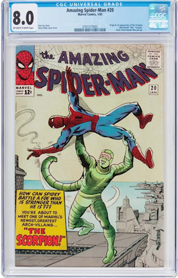 We think the sweet spot for ASM #20 is CGC 8.0, affordable but with upside. Click to find yours!