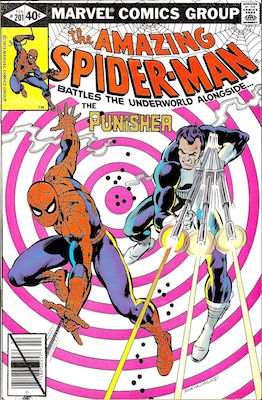 Amazing Spider-Man #201: Classic Punisher Cover. Click for values