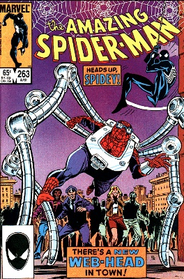 Amazing Spider-Man 263, first Normie Osborn, aka Spider Kid