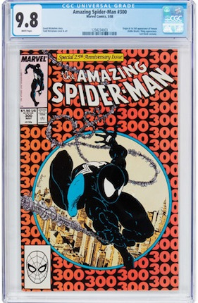 With a Venom movie on the way, Amazing Spider-Man#300 is more important than ever... But surely eclipsed by THE Spidey villain, the Green Goblin in ASM #14?