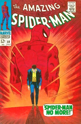 Amazing Spider-Man #50 is the book the second Tobey McGuire movie was based on