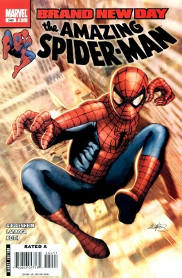 Origin and First Appearance, Menace, Amazing Spider-Man #549, Marvel Comics, 2008. Click for value