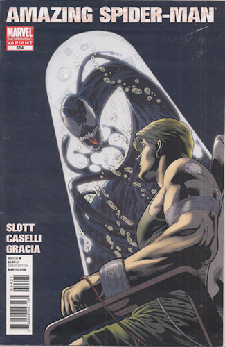 Amazing Spider-Man #654 Second Printing Variant. Click for values