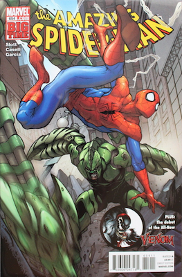 Amazing Spider-Man #654 (May, 2011): First appearance of Agent Venom. Click for values