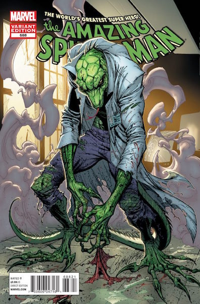 #29: Amazing Spider-man 688 Campbell Variant (2012). Click for values