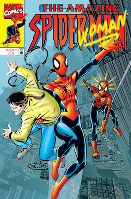 Amazing Spider-Man v2 #5: Mattie Franklin becomes Spider-Woman; Jessica Drew appearance. Click for values
