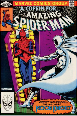 Amazing Spider-Man #220; Moon Knight appearance. Click for values.