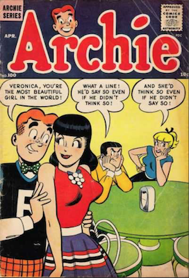 Value of Archie Comic Books #1-100 and Beyond
