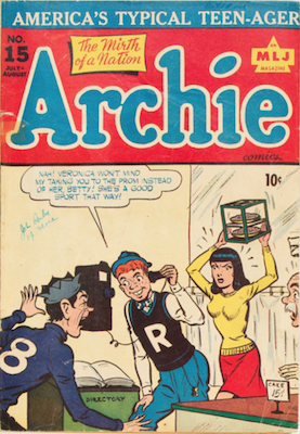 Archie Comics #15. Click for current values.