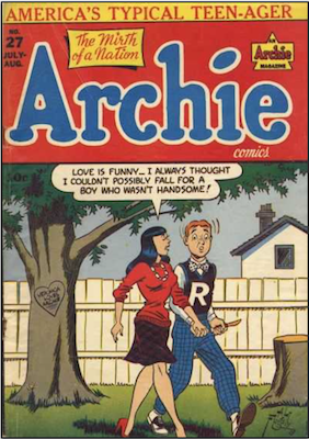 Archie Comics #27. Click for current values.