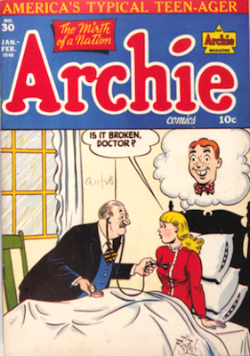 Archie Comics #30. Click for current values.