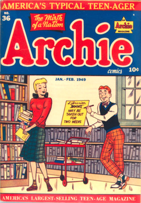 Archie Comics #36. Click for current values.