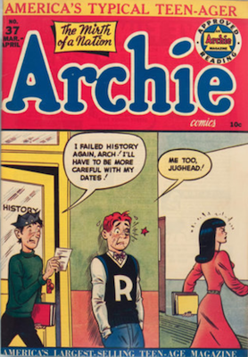 Archie Comics #37. Click for current values.