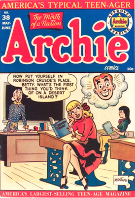 Archie Comics #38. Click for current values.