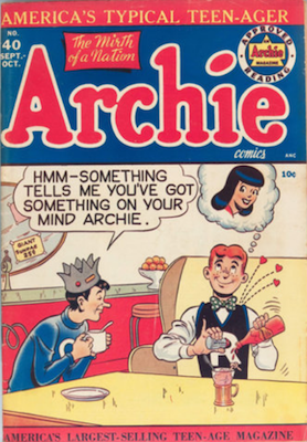 Archie Comics #40. Click for current values.