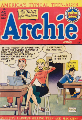 Archie Comics #41. Click for current values.