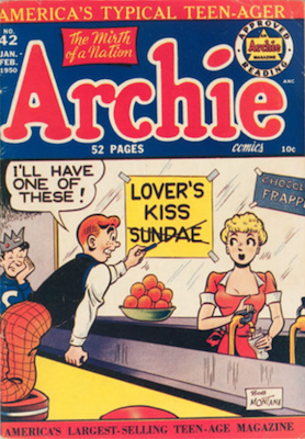 Archie Comics #42. Click for current values.