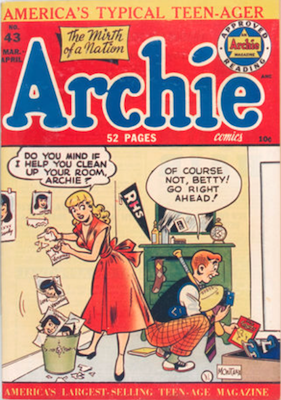 Archie Comics #43. Click for current values.