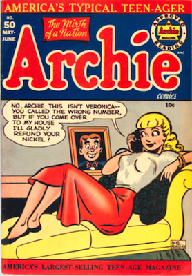 Archie Comics #50. Click for current values.