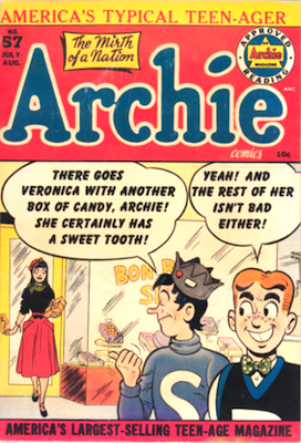Archie Comics #57. Click for current values.