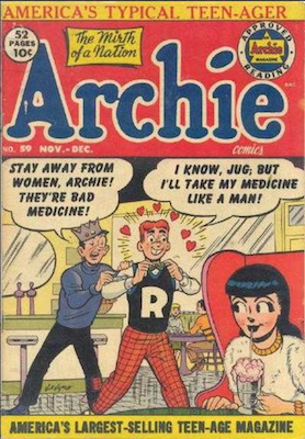 Archie Comics #59. Click for current values.