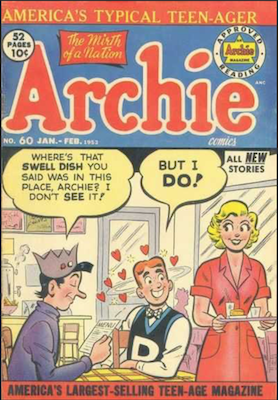 Archie Comics #60. Click for current values.