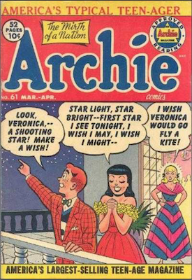 Archie Comics #61. Click for current values.