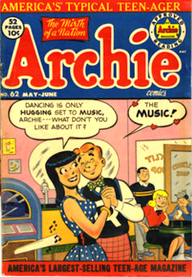 Archie Comics #62. Click for current values.