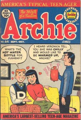 Archie Comics #64. Click for current values.
