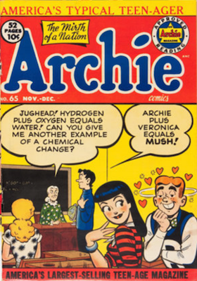 Archie Comics #65. Click for current values.