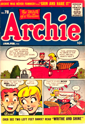 Archie Comics #78. Click for current values.