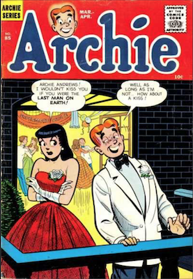 Archie Comics #85. Click for current values.