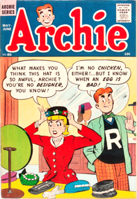 Archie Comics #86. Click for current values.