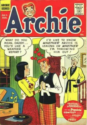 Archie Comics #87. Click for current values.