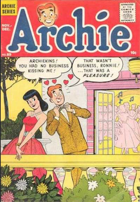 Archie Comics #89. Click for current values.