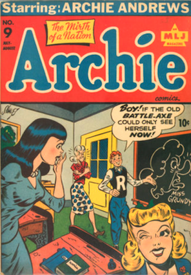 Archie Comics #9. Click for current values.