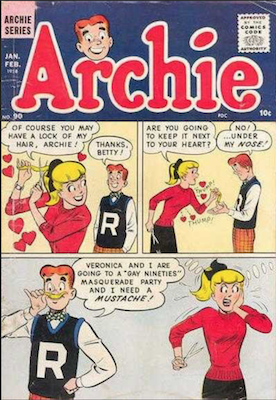 Archie Comics #90. Click for current values.