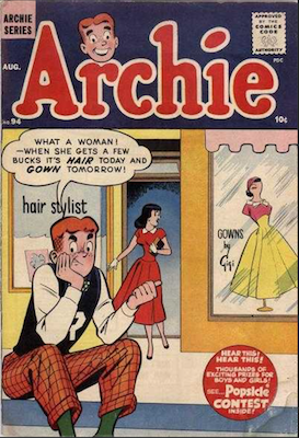 Archie Comics #94. Click for current values.