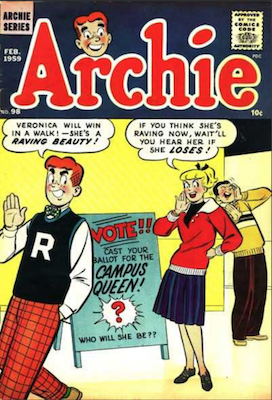 Archie Comics #98. Click for current values.