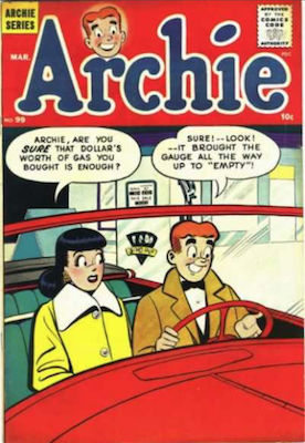 Archie Comics #99. Click for current values.