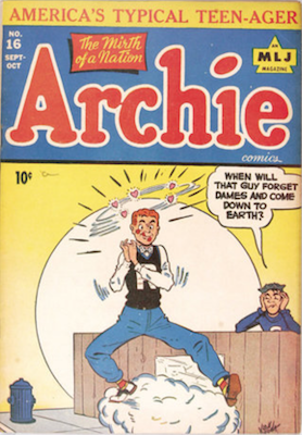Archie Comics #16. Click for current values.