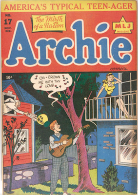 Archie Comics #17. Click for current values.