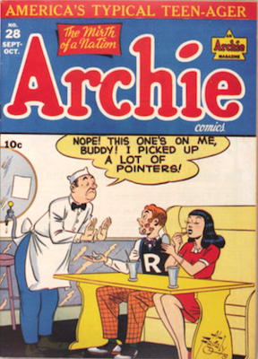 Archie Comics #28. Click for current values.