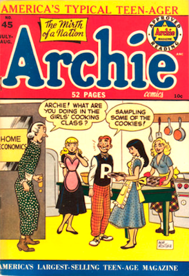 Archie Comics #45. Click for current values.
