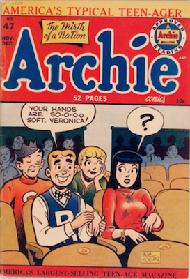Archie Comics #47. Click for current values.