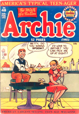 Archie Comics #48. Click for current values.