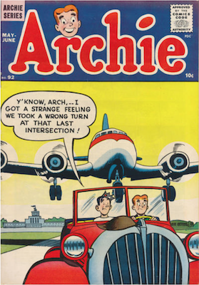 Archie Comics #92. Click for current values.