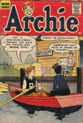 Archie Comics #97. Click for current values.