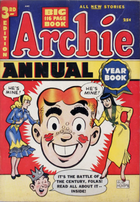 Archie Annual #3: rare in high grade. Click for values
